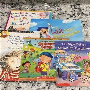 5 Last Day of School Kids Books Set 2